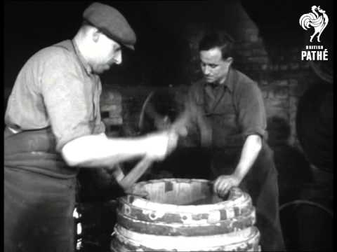 Barrel Making And Cooper Initiating (1949)