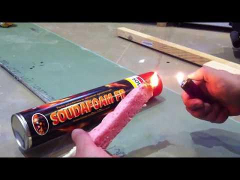 Особым видом огнестойкого и огнеупорного уплотнителя является монтажная противопожарная пена. Герметик применяют в строительных работах по.