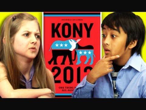 KIDS REACT TO KONY 2012