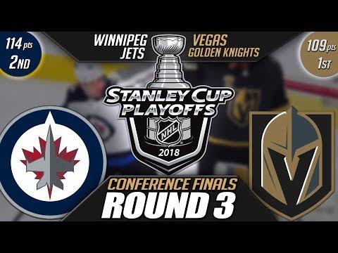 Winnipeg Jets vs Vegas Golden Knights - Round 3 Playoff Preview