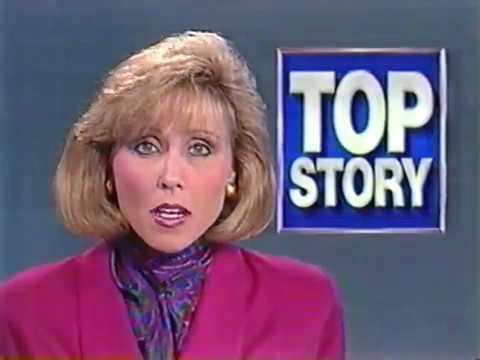 1992 Cleveland News Channel 3 newscast
