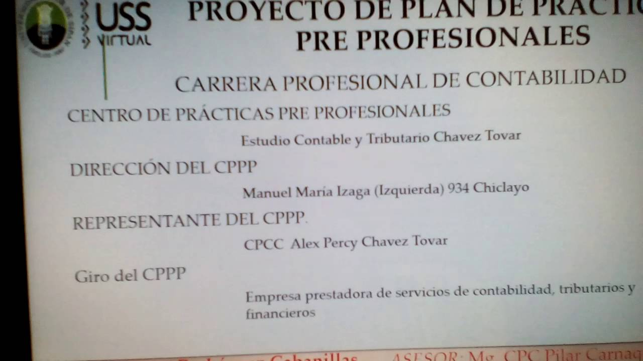 Excepcional Ejemplos De Plan De Estudios De Contabilidad Cresta ...
