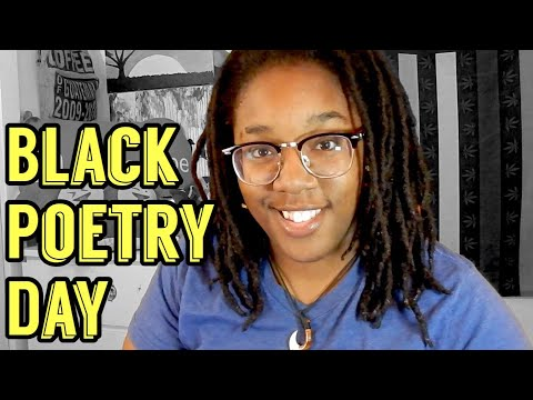 Happy National Black Poetry Day