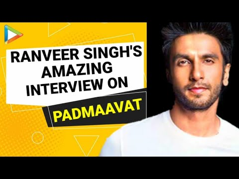 Ranveer Singh | Padmaavat | Full Interview