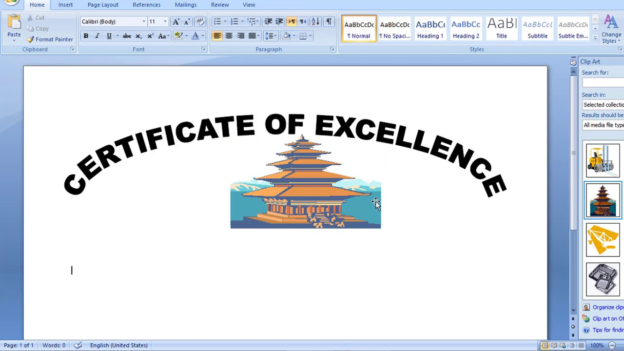 How to make a simple certificate in ms word hindi urdu youtube how to make a simple certificate in ms word hindi urdu yelopaper Choice Image
