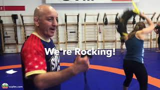 Dynamic Movement with the Bulgarian Bag Course Level 1 Suples Fit