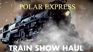 Polar Express Train Show Haul (Plus Face Reveal)
