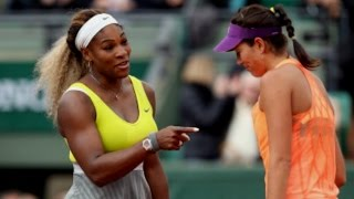 Muguruza VS Williams Highlight 2014