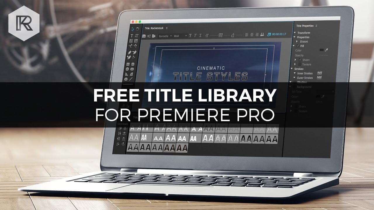 Free Cinematic Title Style Library for Premiere Pro
