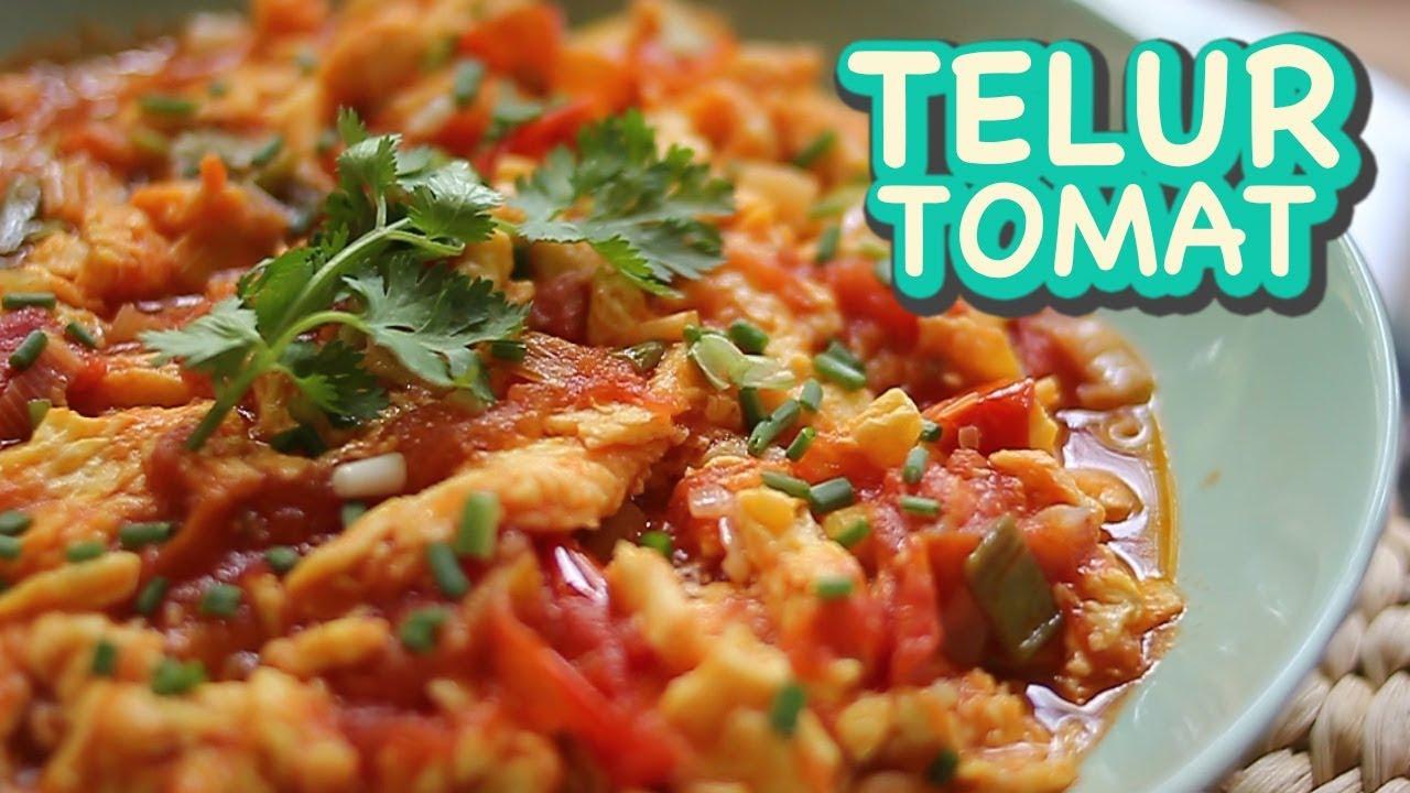 Resep Tumis Tomat Telur Resep Anak Kos Resep Masakan Indonesia Sehari Hari Menu Diet Youtube