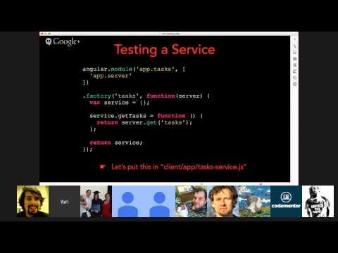 Codementor Office Hours: Test-driven development in AngularJS with Yuri Takhteyev of Rangle.io