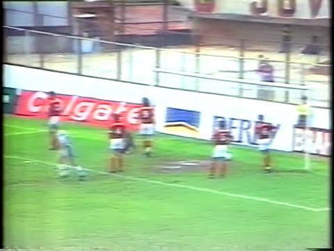 Bragantino 5 X 1 Flamengo Campeonato Brasileiro 1993 Youtube
