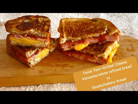 Grilled Cheese with Tomato Jam - Taste Test