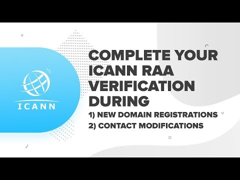 How To Complete Your ICANN RAA Verification   ResellerClub