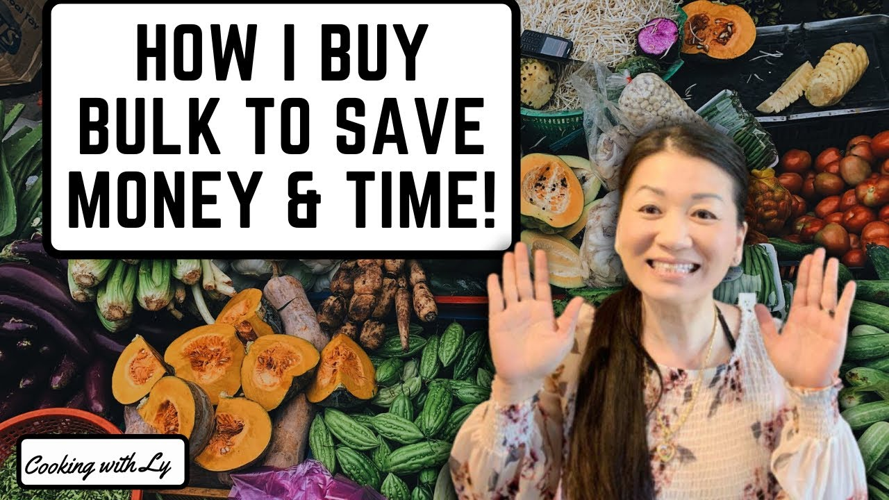 Buy Bulk to Save Money & Time!
