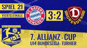 7. Allianzcup 25.01.2020 | Spiel 21 | FC Bayern München - SG Dynamo Dresden 3:2 | Viertelfinale