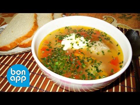 Тефтели с рисом Простой рецепт приготовления тефтелей