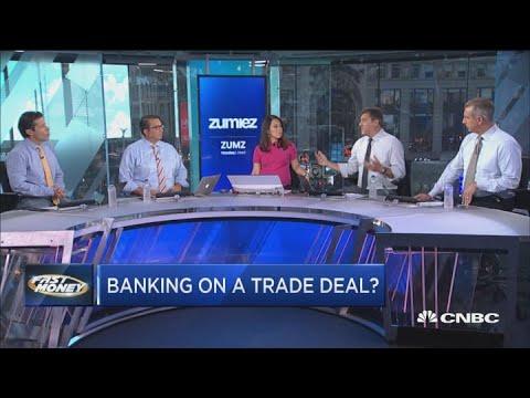 Stocks surge on