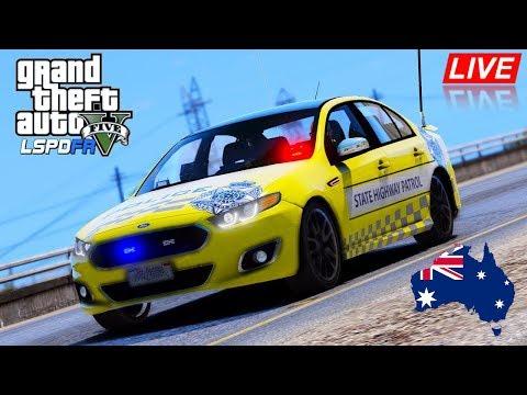 GTA 5 - LSPDFR Australia LIVE - VICPOL State Highway Patrol (12 hr livestream part 3)