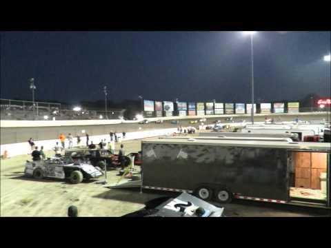 I 55 Raceway 8 15 2015 A Mod Heat Race #3 Dave Armstrong #34
