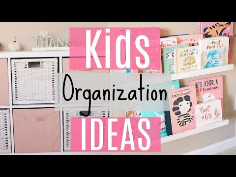 easy-organization-ideas-for-kids-/-organizing-my-toddlers-things!-affordable-storage-ideas