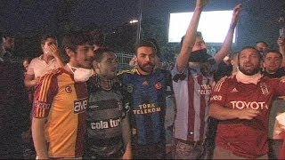 Турецкие болельщики объединились в нелюбви к власти