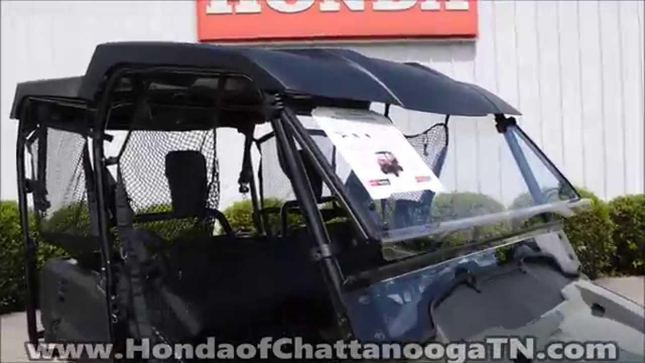 Honda Pioneer 700 4 Hard Top 2 Piece Windshield Honda