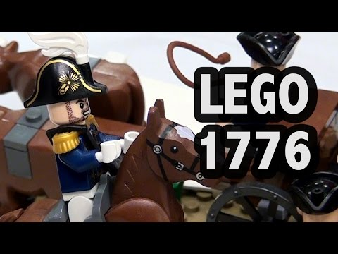 LEGO Noble Train of Artillery Knox Expedition | American Revolutionary War 1776