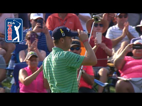 Justin Thomas' highlights Rounds 1-4 from WGC-Bridgestone Invitational 2018