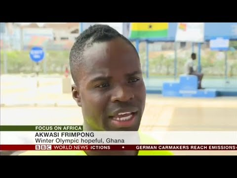 BBC World News with Ghana's First Skeleton Athlete Akwasi Frimpong