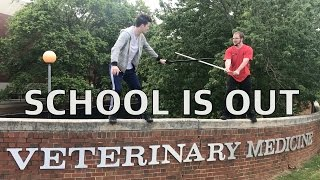 1/2 A DOCTOR! | Vet School Vlog 3