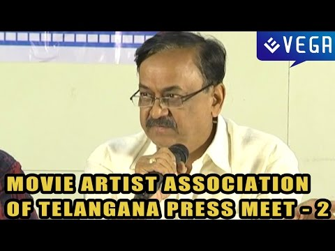 Movie Artist Association of Telangana Press Meet : Part 2