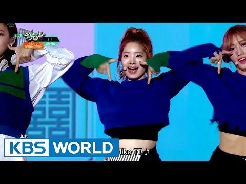 TWICE (트와이스) - TT [Music Bank HOT Stage / 2016.11.18]