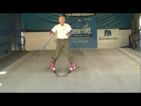 Ski Lessons: Beginner to advanced skills progression at Adventure Ski & Snowboard School