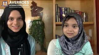 💕An amazing interview of Maryam and Fatima with Averroes International School