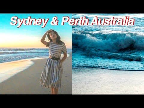 Sydney & Perth Australia 2018 (travel vlog #3)