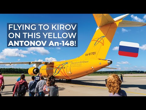 TRIPREPORT | Saratov Airlines (ECONOMY) | Antonov AN-148 | Moscow Domodedovo - Kirov