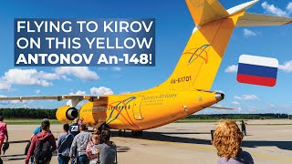 TRIPREPORT   Saratov Airlines (ECONOMY)   Antonov AN-148   Moscow Domodedovo - Kirov