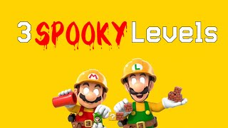 Playing Spooky Halloween Levels! • Mario Maker 2 Level Contest Winners