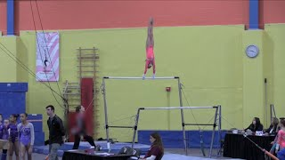 Annie the Gymnast | Level 7 Gymnastics Meet 6 | Acroanna