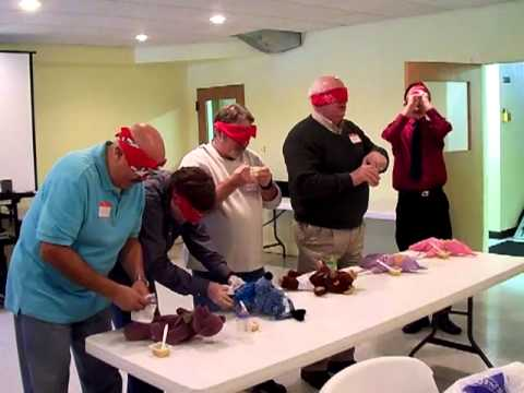 Men Playing Baby Shower Games Youtube