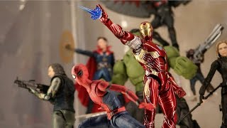 Creating my Avengers Infinity War S.H Figuarts Display! May, 2019