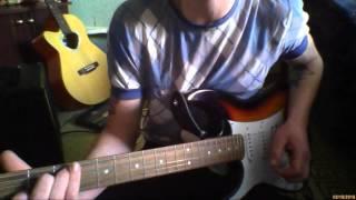Игра на гитаре - не равный но честный музыка моя слова мои
