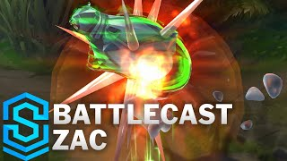 Battlecast Zac Skin Spotlight - Pre-Release - League of Legends