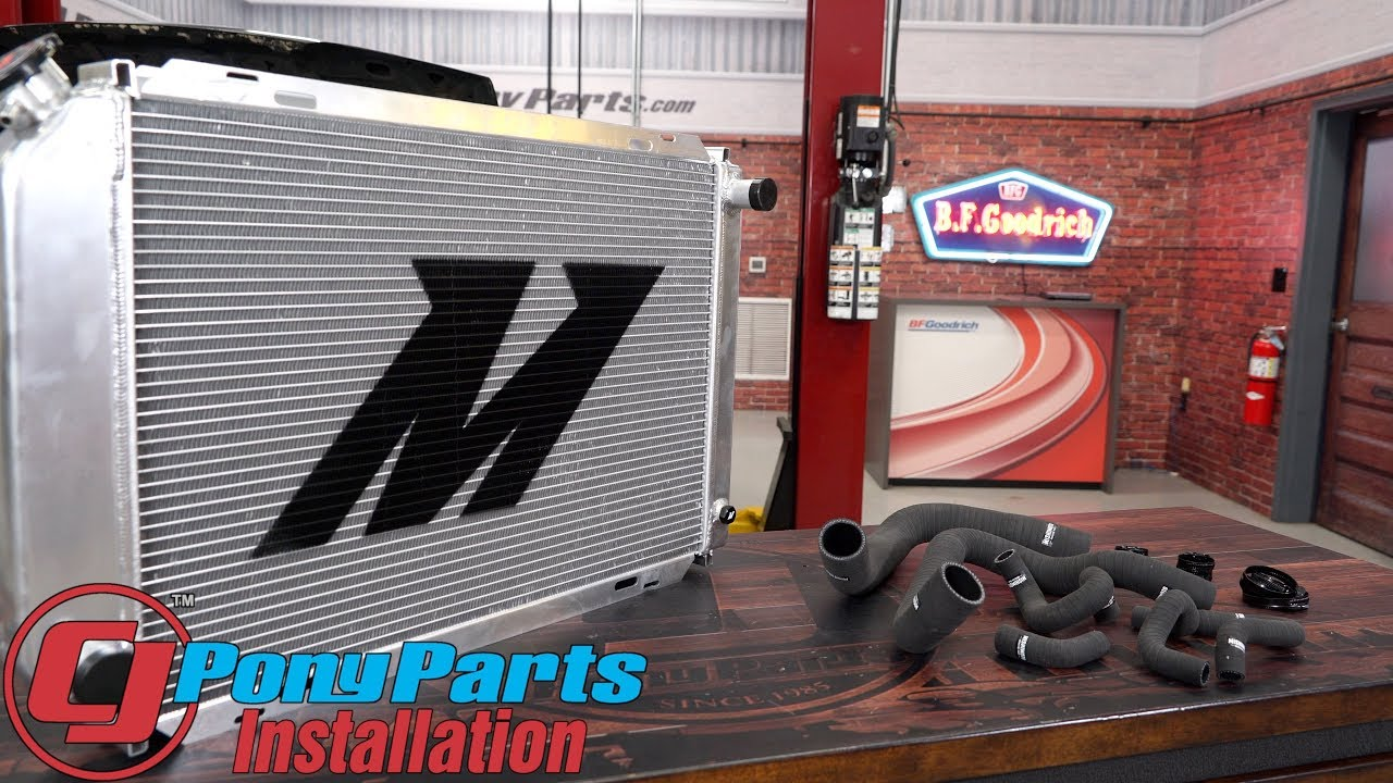 ALUMINUM RADIATOR FOR 1979-1993 Ford Mustang  5.0L 3ROW 1980 1985 1990 1991+Fans