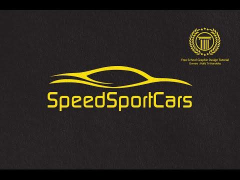 Car Logo Design Tutorial - How to Make a Dealer Logo with Cars Shape in Adobe illustrator