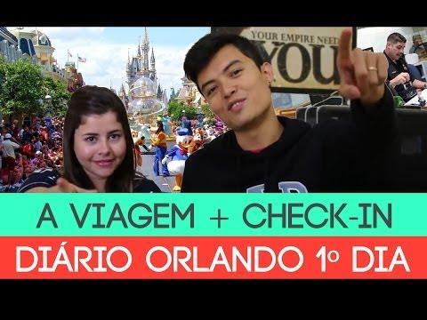DIÁRIO DE ORLANDO #01 - VIAGEM + CHECK-IN - YAMATWO