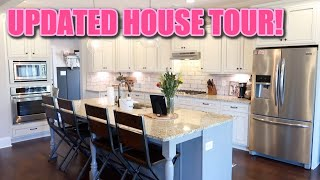 UPDATED HOUSE TOUR 2021   EVERYTHING HAS CHANGED! WELCOME TO OUR NEUTRAL BUT COLORFUL BOHO FARMHOUSE