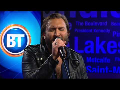 "Coleman Hell performs the song ""2 Heads"" on Breakfast Television Montreal"