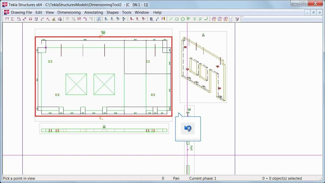 dimensioning tool youtube